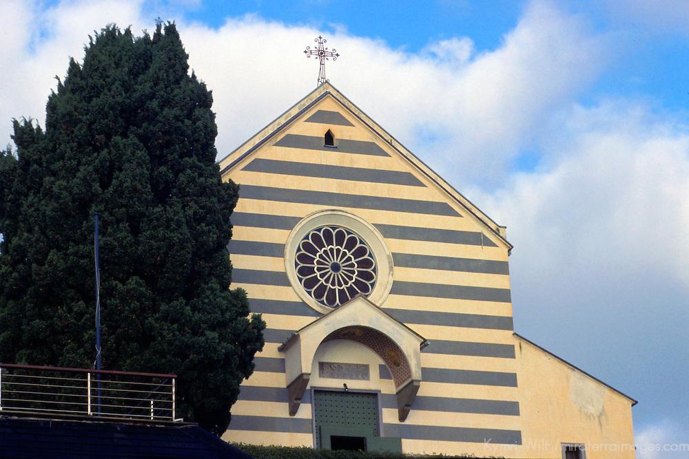 Europe, Italy, Portofino. Iconic Church of Portofino.