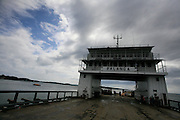 Ferry de Almirante a Isla Colon, Bocas del Toro, Panama. Photo: Tito Herrera