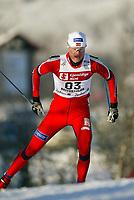 Langrenn, 22. november 2003, Verdenscup Beitostølen,  Frode Andresen, Norge