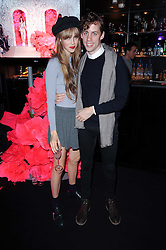 EDIE CAMPBELL and JOHNNY BORRELL at the Mulberry Event at Morton's Berkeley Square, London on 3rd November 2010.