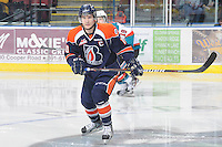 KELOWNA, CANADA, FEBRUARY 11: Chase Schaber #10 of the Kamloops Blazers skates on the ice as the Kamloops Blazers visit the Kelowna Rockets on February 11, 2012 at Prospera Place in Kelowna, British Columbia, Canada (Photo by Marissa Baecker/www.shootthebreeze.ca) *** Local Caption ***