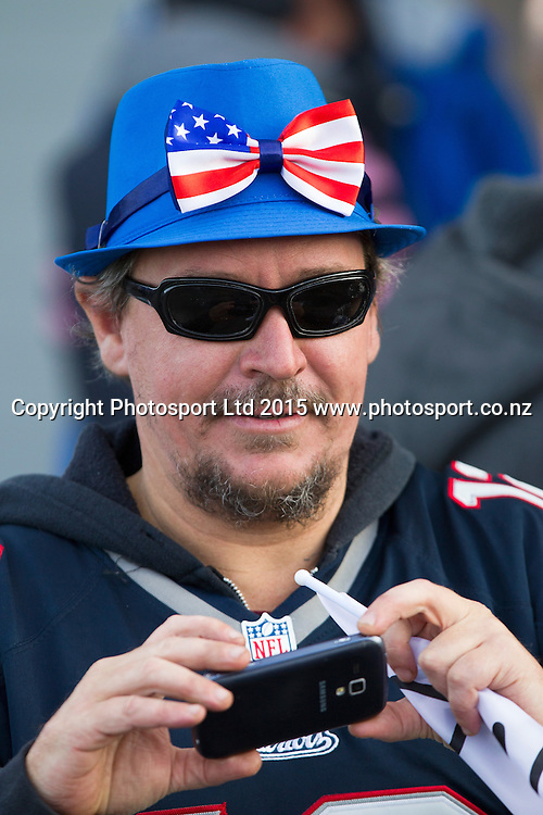 USA Supporter at the Group A FIFA U20 World Cup Match between USA and Myanmar at Northlands Event Centre, Whangarei, Northland, New Zealand, Saturday, May 30, 2015. Copyright photo: David Rowland / www.photosport.co.nz