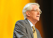 © Licensed to London News Pictures. 20/09/2011. BIRMINGHAM, UK.    Andrew Stunell MP delivers a speech at the Liberal Democrat Conference at the Birmingham ICC today (20 Sept 2011): Stephen Simpson/LNP .