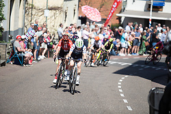 Ruth Winder (USA) of Trek-Segafredo attacks during the Amstel Gold Race - Ladies Edition - a 126.8 km road race, between Maastricht and Valkenburg on April 21, 2019, in Limburg, Netherlands. (Photo by Balint Hamvas/Velofocus.com)