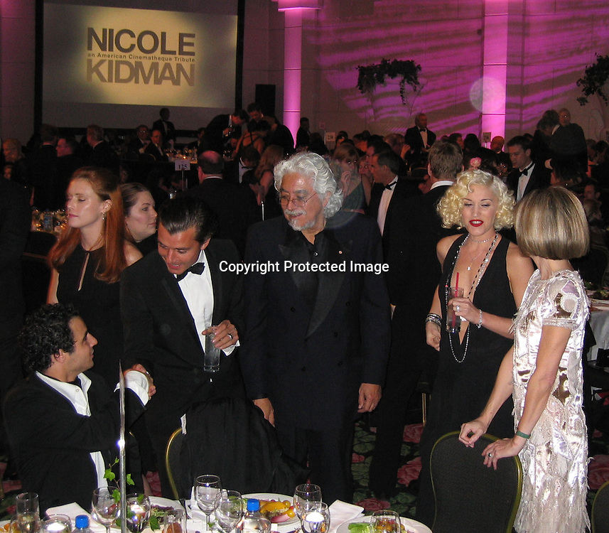 Zac Posen, Robert Graham, Gavin Rossdale, Gwen Stefan &amp; Anna Wintour<br />