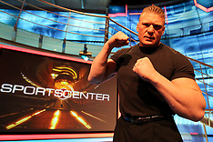 March 29, 2011: Brock Lesnar at the ESPN Studios