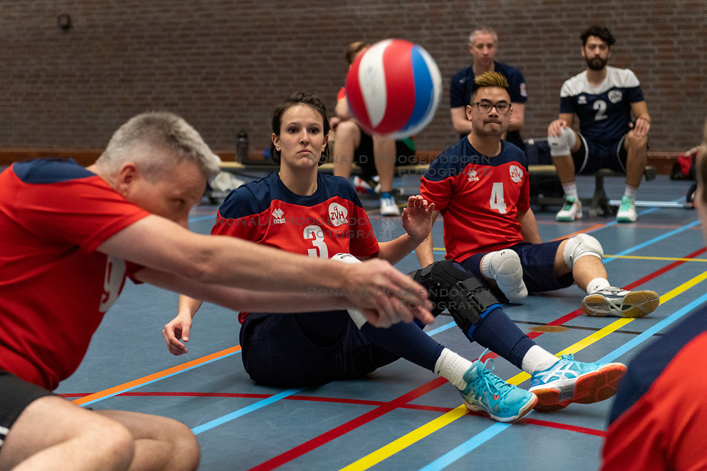 20-04-2019 NED: Dirk Kuyt Foundation Cup, Veenendaal<br /> National Cup sitting volleyball in Veenendaal / ZVH