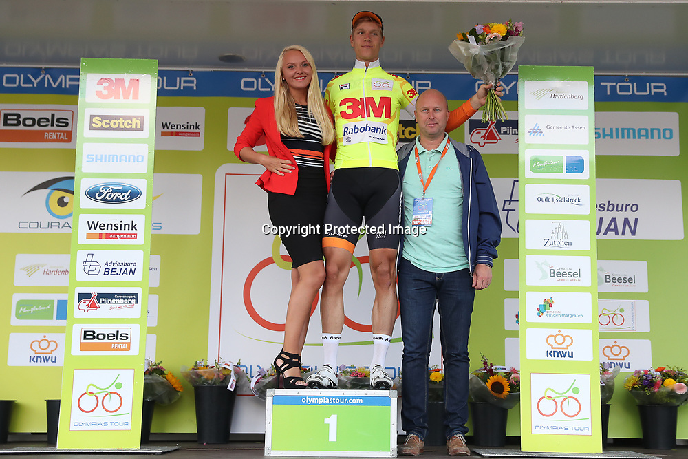 01-10-2016: Wielrennen: Olympia Tour: Reuver<br />REUVER (NED) wielrennen  <br />Cees Bol is de nieuwe leider in de 64e Olympia's Tour
