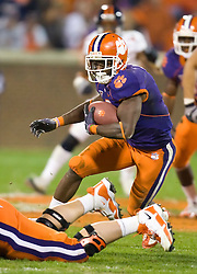 November 21, 2009; Clemson, SC, USA; Clemson Tigers wide receiver Jacoby Ford (6) during the fourth quarter against the Virginia Cavaliers at Memorial Stadium.  Clemson defeated Virginia 34-21.