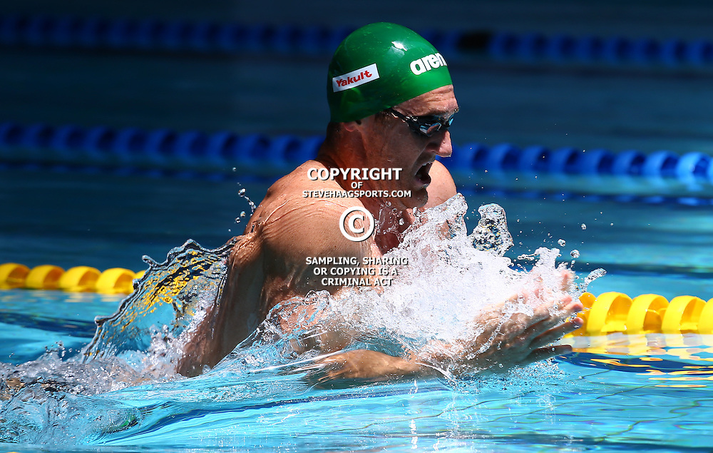 DURBAN, SOUTH AFRICA, February 6 2016 - Cameron Van Der Burgh Men 100 LC Meter Breaststroke during Day 3  the second&nbsp;leg of the 2016 South African Swimming Grand Prix series at the  Kings Park Swimming Pool Durban South Africa. (Photo by Steve Haag)<br /> Images for social media must have consent from Steve Haag