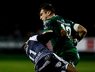Thomas Farrell of Connacht<br /> <br /> Photographer Simon King/Replay Images<br /> <br /> Guinness PRO14 Round 7 - Ospreys v Connacht - Friday 26th October 2018 - The Brewery Field - Bridgend<br /> <br /> World Copyright © Replay Images . All rights reserved. info@replayimages.co.uk - http://replayimages.co.uk