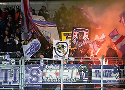 22.02.2019, TGW Arena, Pasching, AUT, 1. FBL, LASK vs FK Austria Wien, 19. Runde, im Bild Austria Fans // during the tipico Bundesliga 19th round match between LASK and FK Austria Wien at the TGW Arena in Pasching, Austria on 2019/02/22. EXPA Pictures © 2019, PhotoCredit: EXPA/ Reinhard Eisenbauer