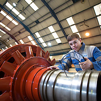 1/07/15 Chesterfield - Apprentices Nathan Bark ( first pix ) and Jacob Kane at ERIKs , Chesterfield