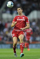 Daniel  Ayala of Middlesbrough - Mandatory byline: Dougie Allward/JMP - 07966386802 - 18/08/2015 - FOOTBALL - iPro Stadium -Derby,England - Derby County v Middlesbrough - Sky Bet Championship