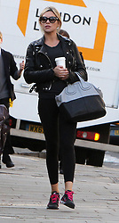 Abbey Clancy and Peter Crouch out and about in north London, UK. 05/03/2014<br />BYLINE MUST READ : GOTCHAIMAGES.COM<br /><br />Copyright by © Gotcha Images Ltd. All rights reserved.<br />Usage of this image is conditional upon the acceptance <br />of Gotcha Images Ltd, terms and conditions available at<br />www.gotchaimages.com