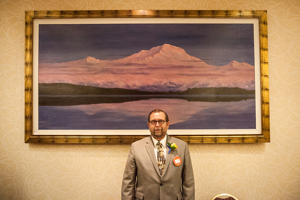 New Rotarian, Bill Ure, Anchorage East Rotary Club.