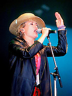 Cerys Matthews - Catatonia / V Festival 98, Hylands Park, Chelmsford, Essex, Britain - August 1998.