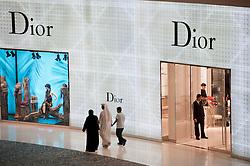 Dior boutique in Dubai Mall in Dubai United Arab Emirates UAE