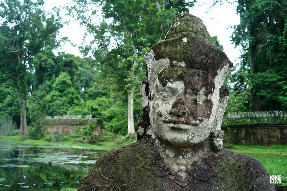 Ancient ruins of Ta Prohm Temple, Angkor, Cambodia.    (Kike Calvo via AP Images)