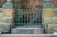 Church Stairs and Gate
