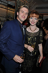 DAN STEVENS and SUSIE HARRIET at a dinner to celebrate the 30th anniversary of Le Caprice, Arlington Street, London SW1 on 4th October 2011.