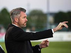 Willie Kirk manager of Bristol City Women points - Mandatory by-line: Paul Knight/JMP - 09/05/2017 - FOOTBALL - Stoke Gifford Stadium - Bristol, England - Bristol City Women v Manchester City Women - FA Women's Super League Spring Series