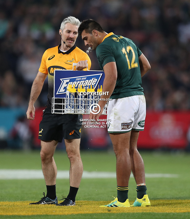 Aled Walters of South Africa during the 2018 Castle Lager Incoming Series 1st Test match between South Africa and England at Emirates Airline Park,<br />