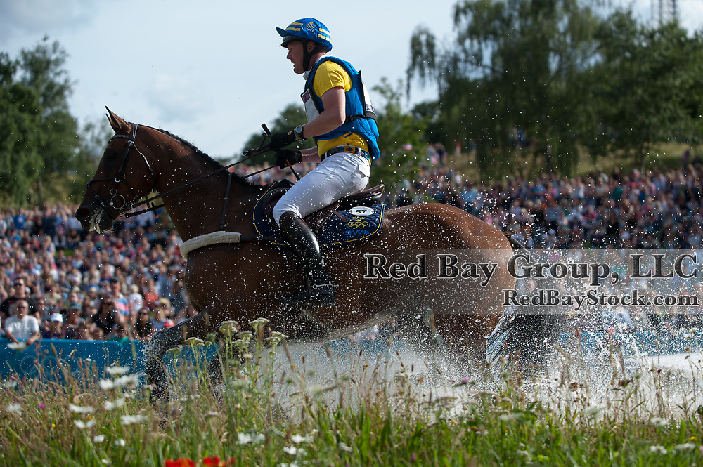Niklas Lindback (SWE) & Mister Pooh - Eventing Cross Country - London 2012 Olympic Games - Greenwich Park, London, United Kingdom -  30 July 2012