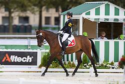 Celine van Till, (SUI), Amanta - Individual Test Grade II Para Dressage - Alltech FEI World Equestrian Games™ 2014 - Normandy, France.<br /> © Hippo Foto Team - Jon Stroud <br /> 25/06/14