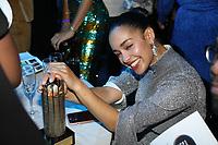 Jorja Smith with her award