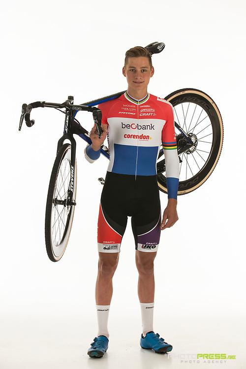 BELGIUM / BELGIQUE / BELGIE / SINT-KATELIJNE-WAVER / CX / CYCLOCROSS / VELDRIJDEN / CYCLO-CROSS / BEOBANK - CORENDON CYCLING TEAM / 2017-2018 / 2017 NATIONAL CHAMPION ELITE MEN OF THE NETHERLANDS / NEDERLANDS KAMPIOEN MANNEN ELITE 2017 / MATHIEU VAN DER POEL (NED) /