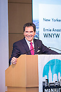 2014 New Yorker of the Year awardee Ernie Anastos, Broadcaster, Fox TV. Celebrating the business leaders in New York City, who have built outstanding businesses - contributing to the economy and community as well. The MCC Business Awards Breakfast is the Manhattan Chamber's premiere event adn was attended by over 250 entrepreneurs, business owners, executives and legislative leaders in New York City. (Photo: www.JeffreyHolmes.com)