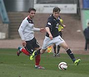 Nicky Riley - Dundee  v Falkirk - SPFL Championship at Dens Park<br /> <br />  - &copy; David Young - www.davidyoungphoto.co.uk - email: davidyoungphoto@gmail.com