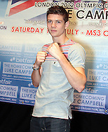 Picture by Richard Gould/Focus Images Ltd +44 7855 403186<br /> 22/06/2013<br /> Luke Campbell pictured during a press conference at Hull City Hall.