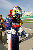 Kosuke Matsuura at the Kansas Speedway, Kansas Indy 300, July 3, 2005