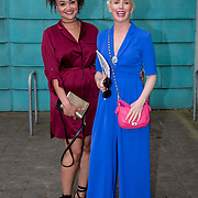 11.05. 2017.                                                 <br /> Over 20 leading Irish and international fashion media and influencers converged on Limerick for 24 hours on, Thursday, 11th May for a showcase of Limerick's fashion industry, culminating with Limerick School of Art & Design, LIT, presenting the LSAD 360° Fashion Show, sponsored by AIB.<br /> Pictured at the event were, Claudia Gocoul, Freelance Fashion Editor and Aisling O'Loughlin. Picture: Alan Place