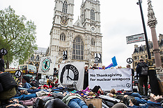 2019-05-03 Protest against Trident CASD Thanksgiving service