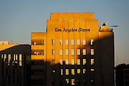 20130723 - LA Times Building at Sunset