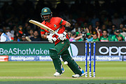 Liton Das of Bangladesh batting during the ICC Cricket World Cup 2019 match between Pakistan and Bangladesh at Lord's Cricket Ground, St John's Wood, United Kingdom on 5 July 2019.