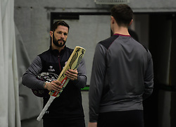 Somerset's Peter Trego during training. - Mandatory byline: Alex Davidson/JMP - 25/02/2016 - CRICKET - The Cooper Associates County Ground -Taunton,England - Somerset CCC  Media access - Pre-Season