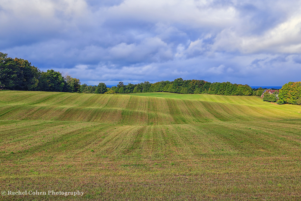 &quot;Over Hill Over Dale&quot;<br /> <br /> Enjoy the wonderful rolling hills, and dramatic clouds in this Mid-western landscape!