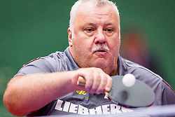Manfred DOLLMANN during day 5 of 15th EPINT tournament - European Table Tennis Championships for the Disabled 2017, at Arena Tri Lilije, Lasko, Slovenia, on October 2, 2017. Photo by Ziga Zupan / Sportida