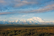 Mt McKinley view from the Ridge above Wonder Lake, Denali National Park, Alaska