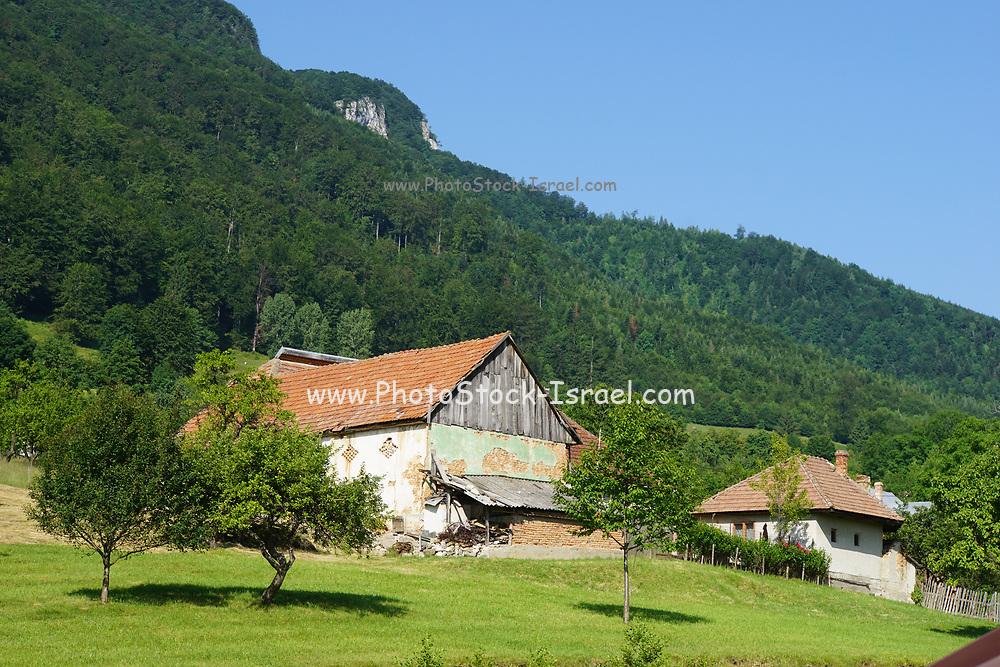 Farmhouse in rural Romania