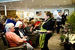 Pippa Greenwood speaks during an event at Almondsbury Garden Centre - Mandatory by-line: Dougie Allward/JMP - 25/04/2018 - FOOTBALL - Almondsbury Centre - Bristol, England -  v  - Pippa Greenwood at Almondsbury Garden Centre