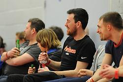 Bristol Flyers fan - Photo mandatory by-line: Dougie Allward/JMP - Mobile: 07966 386802 - 28/03/2015 - SPORT - Basketball - Bristol - SGS Wise Campus - Bristol Flyers v London Lions - British Basketball League