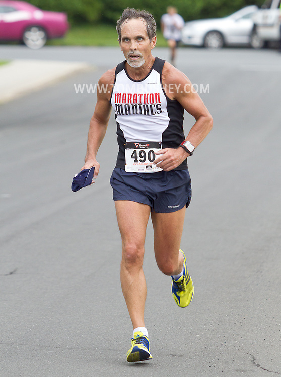 Middletown, New York - Richard White finished 18th overall in the 16th annual Ruthie Dino-Marshall 5K Run/Walk put on by the Middletown YMCA on Sunday, June 10, 2012.