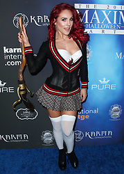 2017 MAXIM Halloween Party held at Los Angeles Center Studios on October 21, 2017 in Los Angeles, California. 21 Oct 2017 Pictured: Sharna Burgess. Photo credit: IPA/MEGA TheMegaAgency.com +1 888 505 6342