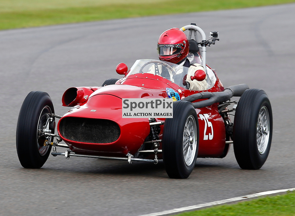 GOODWOOD REVIVAL....Tony Wood during qualifying for the weekend races...(c) STEPHEN LAWSON | SportPix.org.uk
