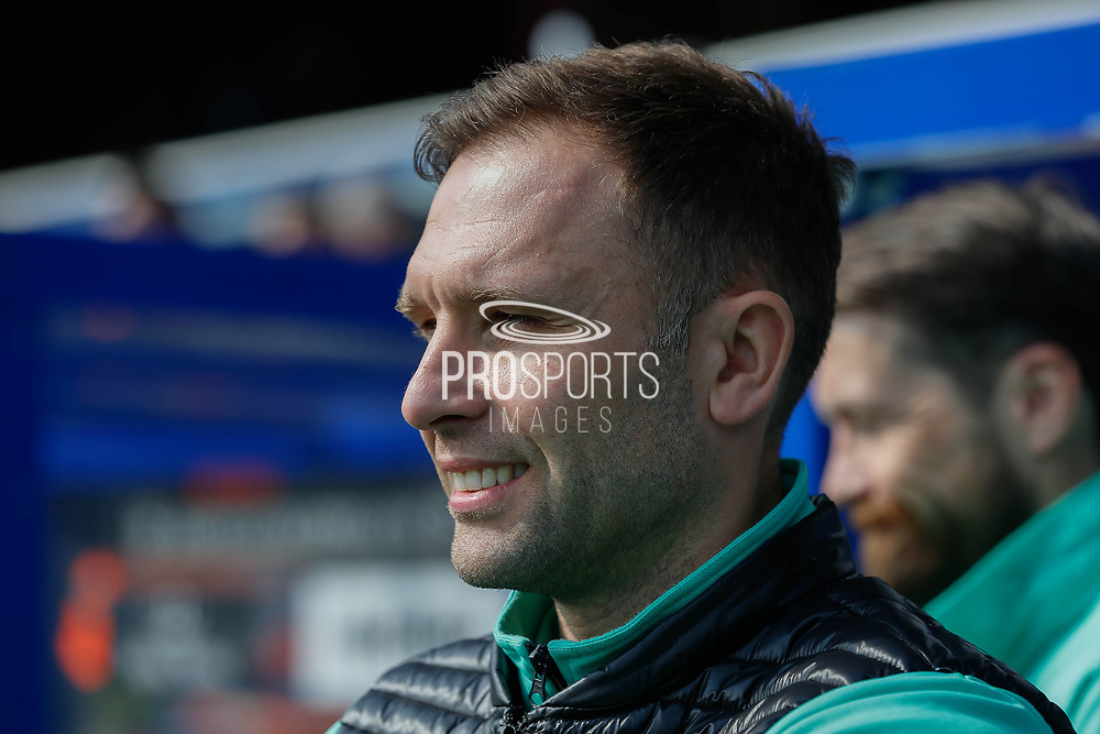 Queens Park Rangers Caretaker Manager John Eustace during the EFL Sky Bet Championship match between Queens Park Rangers and Swansea City at the Loftus Road Stadium, London, England on 13 April 2019.